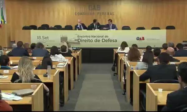 Encontro Nacional do Direito de Defesa