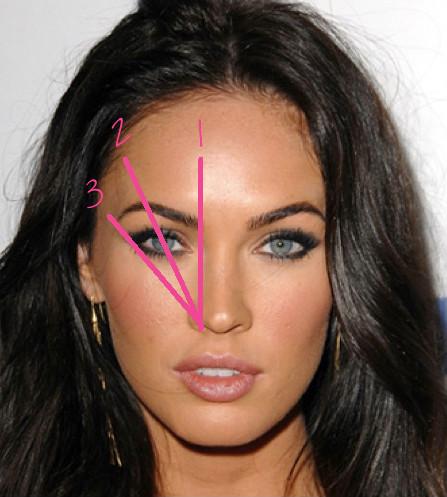 How to shape your eyebrows like Megan Fox