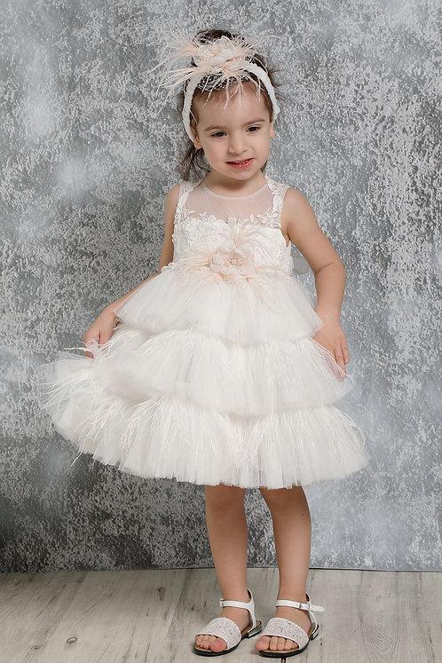 Ρούχο Βάπτισης για Κορίτσι K4320Φ - ΙΣ