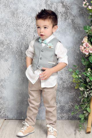 Ρούχο Βάπτισης για Αγόρι Α4376 - ΛΠ