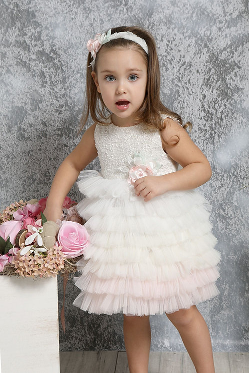 Ρούχο Βάπτισης για Κορίτσι K4321Φ - IΡ