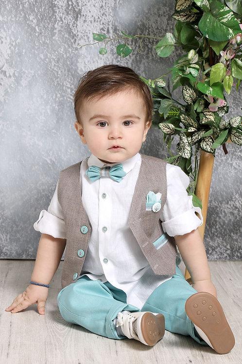 Ρούχο Βάπτισης για Αγόρι Α4374 - ΠΟ