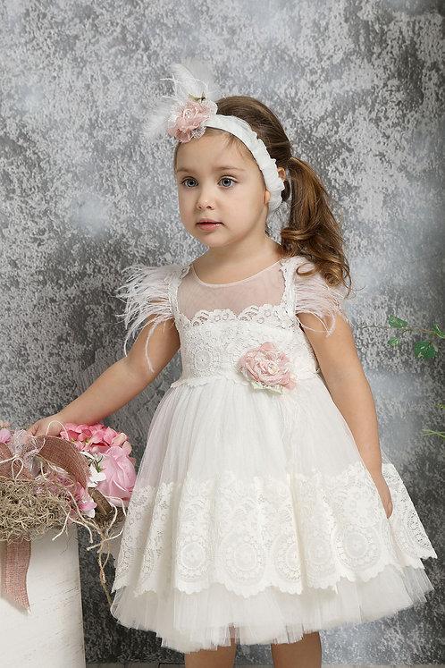 Ρούχο Βάπτισης για Κορίτσι K4322Φ - Ι