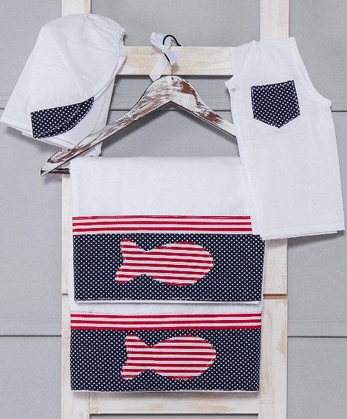 Σετ Λαδόπανα για Αγόρι ΙΑ - Ψαράκι