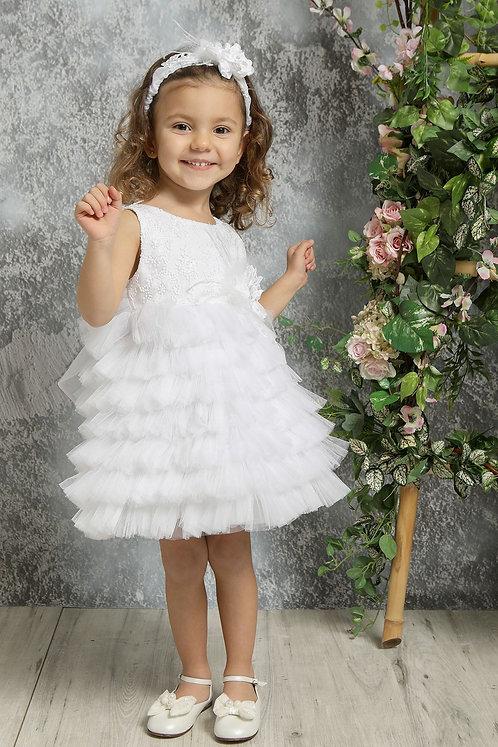 Ρούχο Βάπτισης για Κορίτσι K4321Φ - Λ