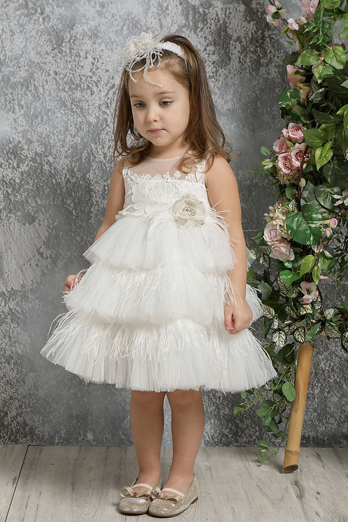Ρούχο Βάπτισης για Κορίτσι K4320Φ - ΙΧ