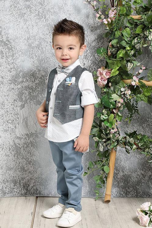 Ρούχο Βάπτισης για Αγόρι Α4376 - ΜΡ