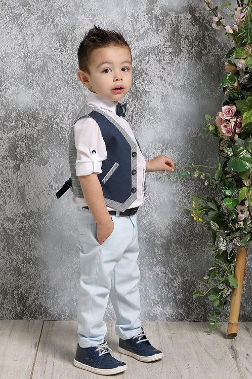 Ρούχο Βάπτισης για Αγόρι Α4383 - ΜΣ