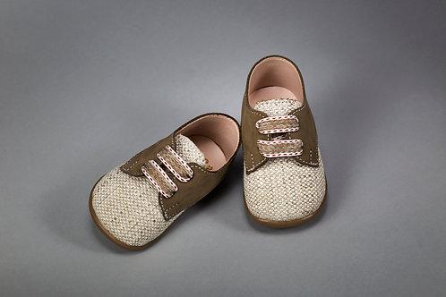 Βαπτιστικό παπουτσάκι - πρώτα βήματα  - 2120Β