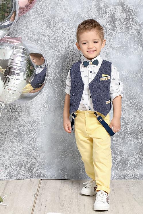 Ρούχο Βάπτισης για Αγόρι Α4403