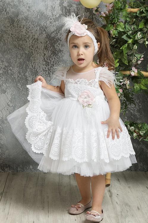 Ρούχο Βάπτισης για Κορίτσι K4322Φ - Λ