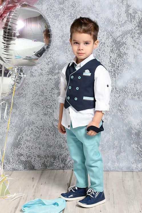 Ρούχο Βάπτισης για Αγόρι Α4396 - ΜΟ