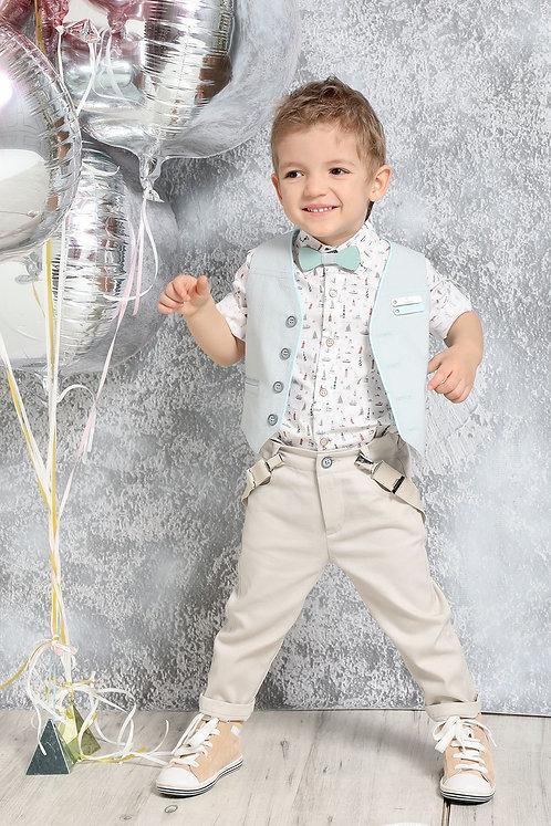 Ρούχο Βάπτισης για Αγόρι Α4380