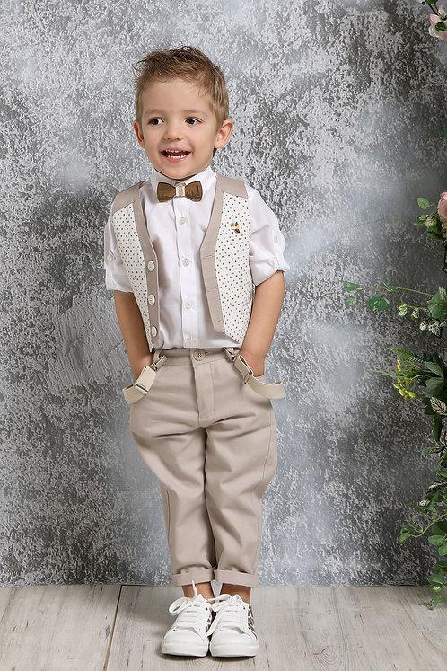 Ρούχο Βάπτισης για Αγόρι Α4395