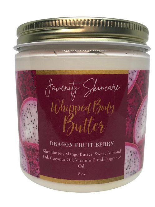DRAGON FRUIT BERRY WHIPPED BODY BUTTER 8oz
