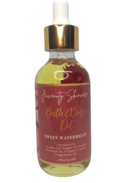 SWEET WATERMELON BATH & BODY OIL                         2OZ