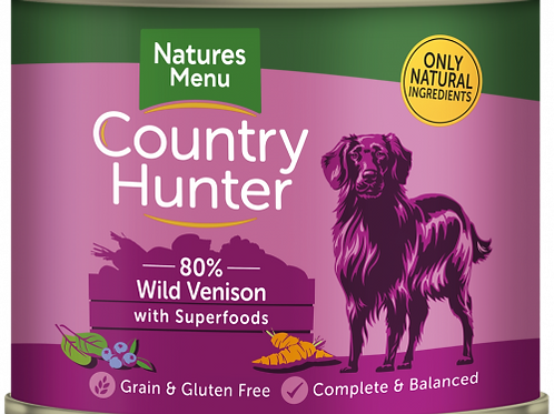 Country Hunter - Wild Vension with Superfoods
