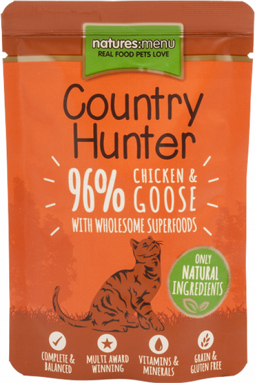 Country Hunter - Chicken and Goose Cat Pouches