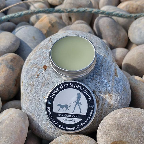 The Dog  & I - Natural Dog Skin Balm - Nose, Paws & Elbows.