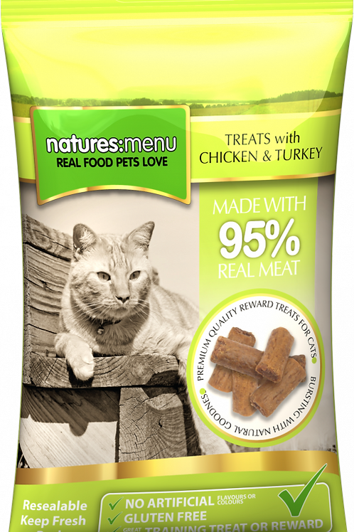 Natures Menu - Chicken and Turkey Treats