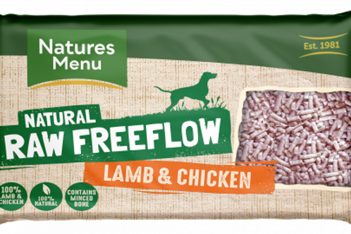 Natures Menu - Lamb and Chicken Freeflow Mince