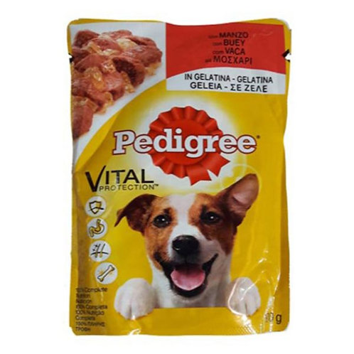 PEDIGREE POUCH ADULT BEEF IN JELLY - 100G