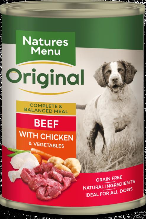 Natures Menu - Beef with Chicken