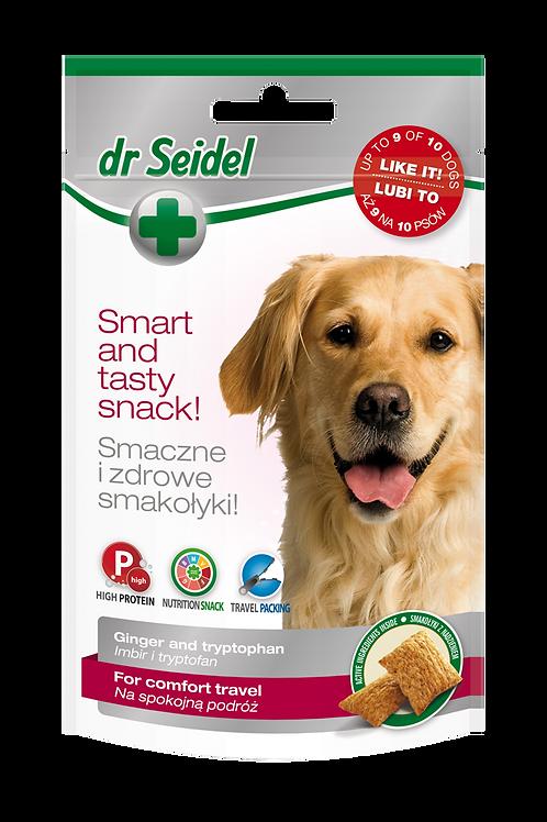 Dr Seidel Snacks for travel comfort.