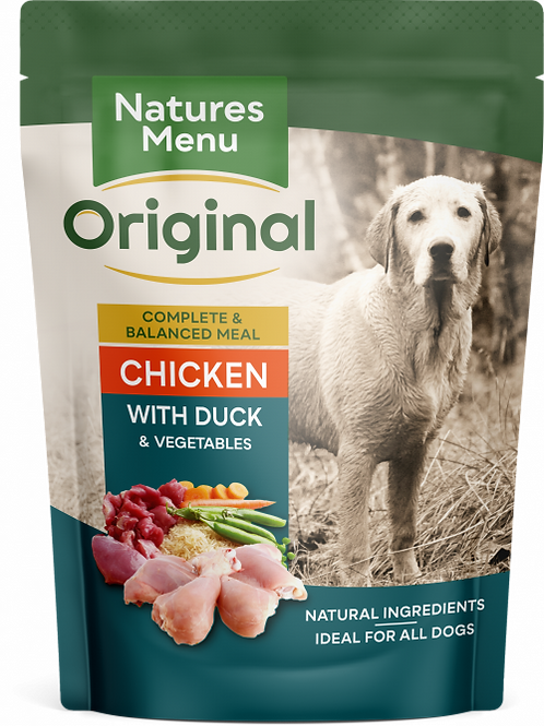 Natures Menu - Chicken with Duck Pouches