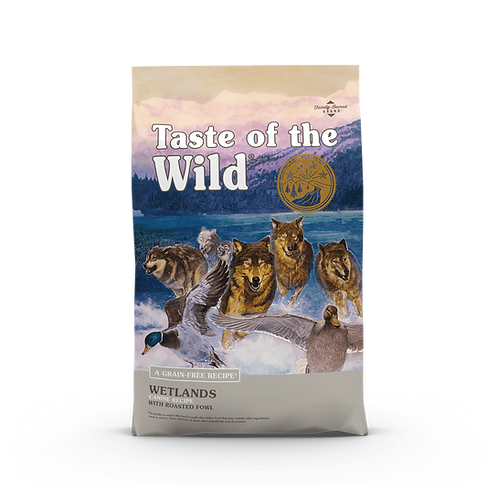 Taste of the Wild - Wetlands Canine - Formula with Roasted Fowl