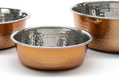 Modern Copper Non Slip Stainless Steel Dog