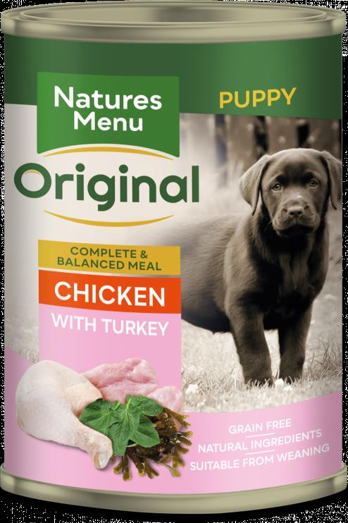 Natures Menu - Junior Chicken with Turkey