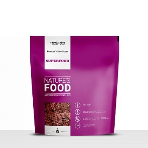 NATURE'S SUPERFOOD, BREEDER'S RAW BOOST 1 KG