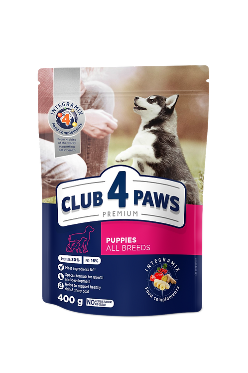 CLUB 4 PAWS Premium for Puppies - Rich in Chicken