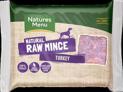 Natures Menu - Just Turkey Raw Mince