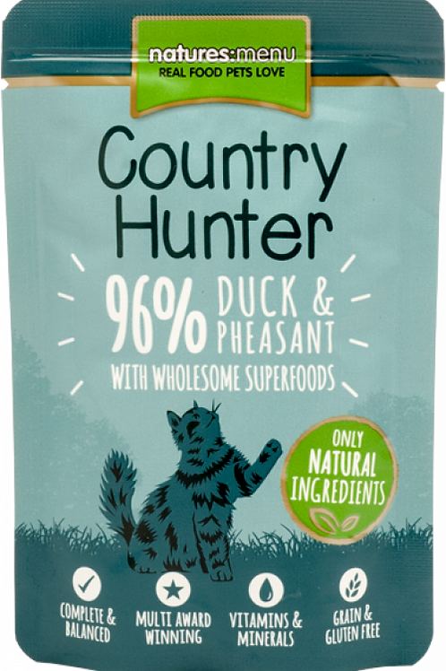 Country Hunter - Duck and Pheasant Cat Pouches