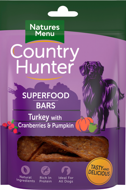 Country Hunter - Turkey with Superfood bars