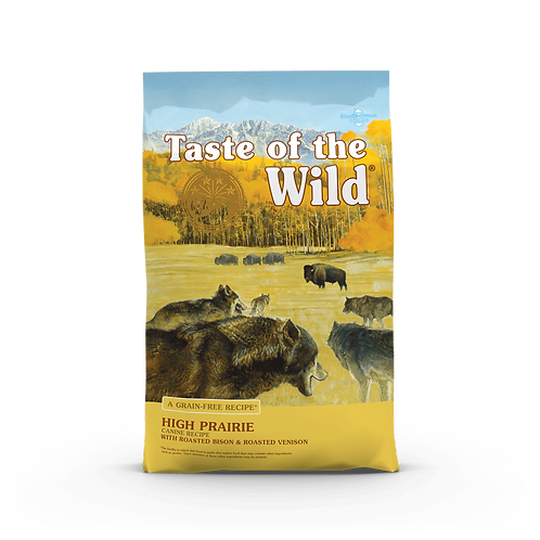 Taste of the Wild - High Prairie - Formula with Roasted bison & Roasted Venison