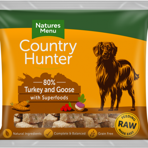 Country Hunter - Raw Turkey and Goose
