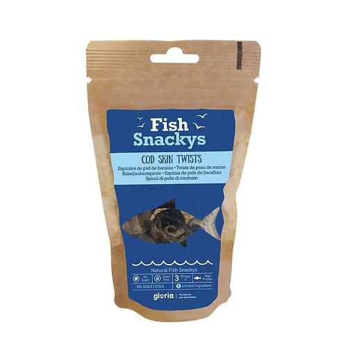 Fishy Snackys - Cod Skin Twists