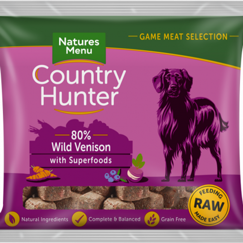 Country Hunter - Raw Nuggets Wild Venison