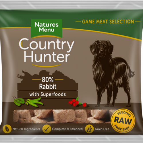 Country Hunter - Raw Nuggets Full Flavoured Rabbit