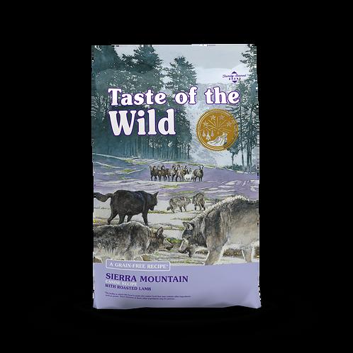 Taste of the Wild - Sierra Mountain - Formula with Roasted Lamb