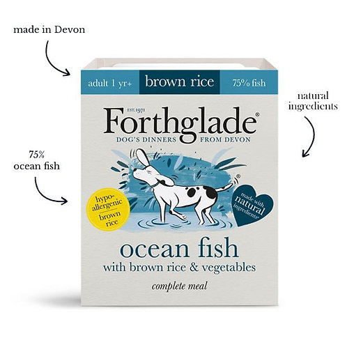 Forthglade - Ocean fish with brown rice & vegetables (Adult)