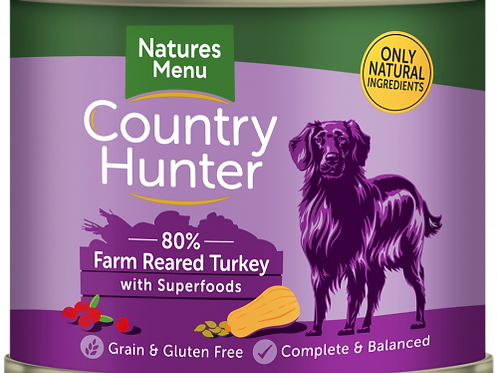 Country Hunter - Farm Reared Turkey with Superfoods
