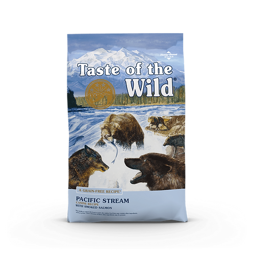Taste of the Wild - Pacific Stream Canine - Formula with Smoked Salmon