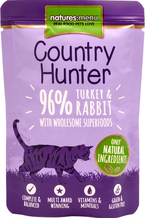 Country Hunter - Turkey and Rabbit Cat Pouches