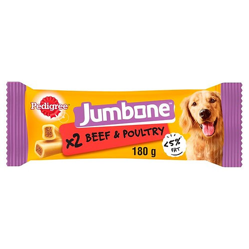 PEDIGREE JUMBONE LARGE BEEF&POULTRY - 180G