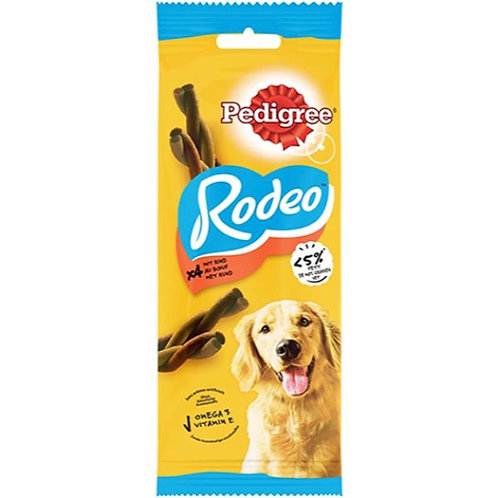 PEDIGREE TREAT BEEF RODEO 4 PCS - 70G