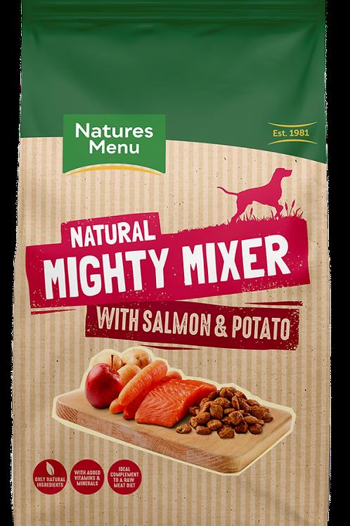 Natures Menu - Mighty Mixer with Salmon & Potatoes